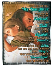 """JES10053BL -  A Prayer For Daughter Small Fleece Blanket - 30"""" x 40"""" front"""