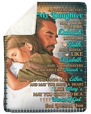 JES10053BL -  A Prayer For Daughter Sherpa Fleece Blanket tile