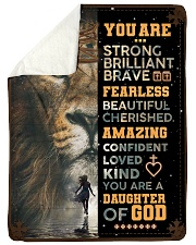 JES10101 - You Are A Daughter Of God Sherpa Fleece Blanket tile