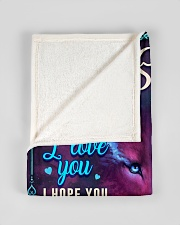 """BL10056N - To My Sofia Dad Letter Small Fleece Blanket - 30"""" x 40"""" aos-coral-fleece-blanket-30x40-lifestyle-front-17"""