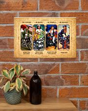 CV10011 - Strong Brave Humble Motor 17x11 Poster poster-landscape-17x11-lifestyle-23