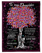 "FBC10017 - Daughter Tree Colors Small Fleece Blanket - 30"" x 40"" front"