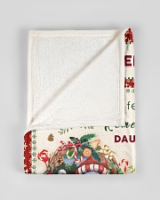 """BL10006 - Beloved Daughter Vintage Christmas Small Fleece Blanket - 30"""" x 40"""" aos-coral-fleece-blanket-30x40-lifestyle-front-17"""