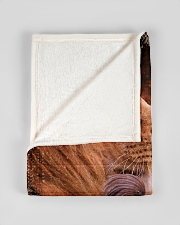 """JES10097 - You Are A Daughter Of God Small Fleece Blanket - 30"""" x 40"""" aos-coral-fleece-blanket-30x40-lifestyle-front-17"""