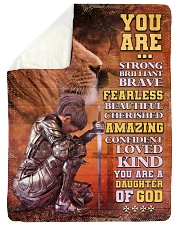 JES10097 - You Are A Daughter Of God Sherpa Fleece Blanket tile