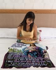 "JES10043BL - Jesus Christ  Small Fleece Blanket - 30"" x 40"" aos-coral-fleece-blanket-30x40-lifestyle-front-12"