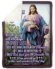 JES10043BL - Jesus Christ  Sherpa Fleece Blanket tile