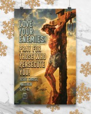 JES10005PT - Jesus Christ Love Your Enemies 11x17 Poster aos-poster-portrait-11x17-lifestyle-25