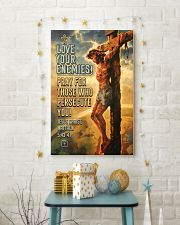 JES10005PT - Jesus Christ Love Your Enemies 11x17 Poster lifestyle-holiday-poster-3