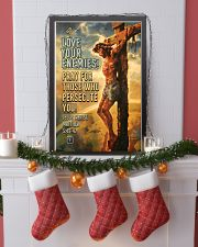 JES10005PT - Jesus Christ Love Your Enemies 11x17 Poster lifestyle-holiday-poster-4