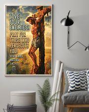 JES10005PT - Jesus Christ Love Your Enemies 11x17 Poster lifestyle-poster-1