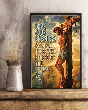 JES10005PT - Jesus Christ Love Your Enemies 11x17 Poster lifestyle-poster-3