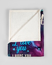 """BL10056N - To My Amelia Dad Letter Small Fleece Blanket - 30"""" x 40"""" aos-coral-fleece-blanket-30x40-lifestyle-front-17"""