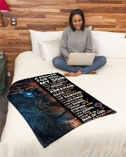"""JES10080BL - A Prayer For My Son Small Fleece Blanket - 30"""" x 40"""" aos-coral-fleece-blanket-30x40-lifestyle-front-08"""