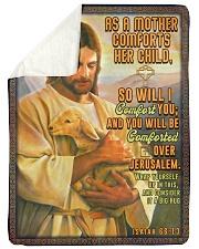 JES10038BL - Jesus Christ  Sherpa Fleece Blanket tile