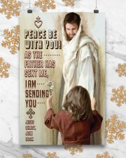 JES10004PT - Jesus Christ Peace Be With You 11x17 Poster aos-poster-portrait-11x17-lifestyle-25