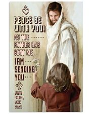 JES10004PT - Jesus Christ Peace Be With You 11x17 Poster front