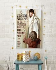 JES10004PT - Jesus Christ Peace Be With You 11x17 Poster lifestyle-holiday-poster-3