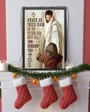 JES10004PT - Jesus Christ Peace Be With You 11x17 Poster lifestyle-holiday-poster-4