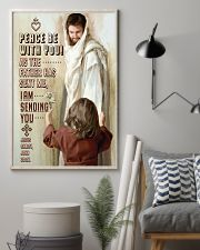 JES10004PT - Jesus Christ Peace Be With You 11x17 Poster lifestyle-poster-1