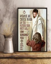 JES10004PT - Jesus Christ Peace Be With You 11x17 Poster lifestyle-poster-3
