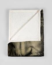 "JES10103 - Jesus Way Maker Miracle Worker Small Fleece Blanket - 30"" x 40"" aos-coral-fleece-blanket-30x40-lifestyle-front-17"