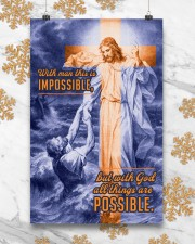 JES10034PT - Jesus Christ All Things Possible 11x17 Poster aos-poster-portrait-11x17-lifestyle-25