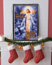 JES10034PT - Jesus Christ All Things Possible 11x17 Poster lifestyle-holiday-poster-4