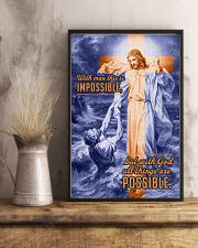 JES10034PT - Jesus Christ All Things Possible 11x17 Poster lifestyle-poster-3