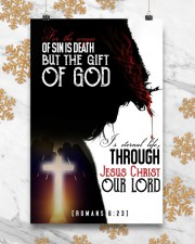 JES10021PT - Jesus Christ The Gift Of God 11x17 Poster aos-poster-portrait-11x17-lifestyle-25