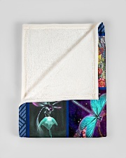 """FBC10043 - Dragonfly Just Look Up Smile Small Fleece Blanket - 30"""" x 40"""" aos-coral-fleece-blanket-30x40-lifestyle-front-17"""