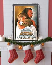 JES10007PT - Jesus Christ Don't Worry Tomorrow 16x24 Poster lifestyle-holiday-poster-4