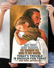 JES10007PT - Jesus Christ Don't Worry Tomorrow 16x24 Poster poster-portrait-16x24-lifestyle-19