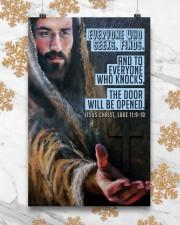 JES10025PT - Jesus Christ Everyone Who Seeks 11x17 Poster aos-poster-portrait-11x17-lifestyle-25