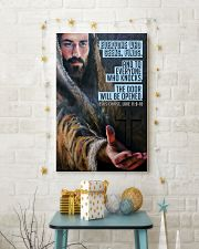 JES10025PT - Jesus Christ Everyone Who Seeks 11x17 Poster lifestyle-holiday-poster-3