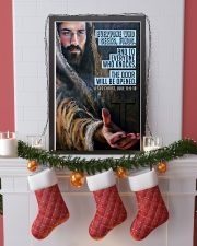 JES10025PT - Jesus Christ Everyone Who Seeks 11x17 Poster lifestyle-holiday-poster-4