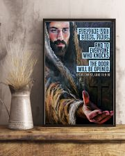 JES10025PT - Jesus Christ Everyone Who Seeks 11x17 Poster lifestyle-poster-3