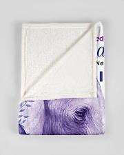 "BL10004 - Beloved Granddaughter Elephant 2 Small Fleece Blanket - 30"" x 40"" aos-coral-fleece-blanket-30x40-lifestyle-front-17"