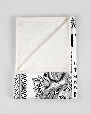 """FBC10039 - Son To Dad Wolf Small Fleece Blanket - 30"""" x 40"""" aos-coral-fleece-blanket-30x40-lifestyle-front-17"""