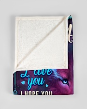 """BL10056N - To My Addison Dad Letter Small Fleece Blanket - 30"""" x 40"""" aos-coral-fleece-blanket-30x40-lifestyle-front-17"""