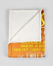 "FBC10031 - My Dear Son Small Fleece Blanket - 30"" x 40"" aos-coral-fleece-blanket-30x40-lifestyle-front-17"