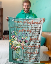 """FAM10126BL - I Have You In My Heart Small Fleece Blanket - 30"""" x 40"""" aos-coral-fleece-blanket-30x40-lifestyle-front-09"""