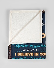 """BL10075 - To My Son Elephant Mom Letter Small Fleece Blanket - 30"""" x 40"""" aos-coral-fleece-blanket-30x40-lifestyle-front-17"""