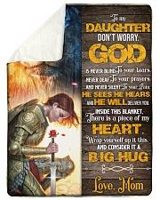 Jes10088 - God Is Never Blind To Your Tears Sherpa Fleece Blanket tile
