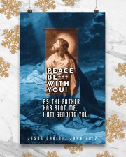 JES10015PT - Jesus Christ Peace Be With You 11x17 Poster aos-poster-portrait-11x17-lifestyle-25