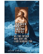 JES10015PT - Jesus Christ Peace Be With You 11x17 Poster front