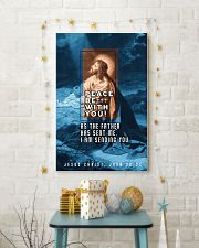JES10015PT - Jesus Christ Peace Be With You 11x17 Poster lifestyle-holiday-poster-3