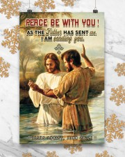 JES10031PT - Jesus Christ Peace Be With You 11x17 Poster aos-poster-portrait-11x17-lifestyle-25