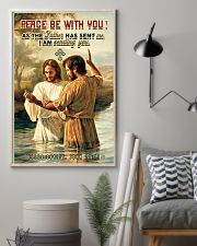 JES10031PT - Jesus Christ Peace Be With You 11x17 Poster lifestyle-poster-1