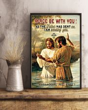 JES10031PT - Jesus Christ Peace Be With You 11x17 Poster lifestyle-poster-3